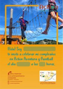 Invitación de cumpleaños Valladolid